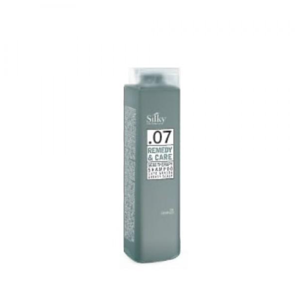 Silky Sebo-Therapy sampon zsíros hajra és szebórea ellen, 250 ml